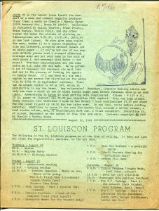 Locus #35 1969-sci-fi fanzine-St Louiscon Program-Walt Simonson Conan-VG