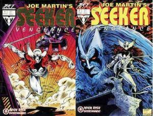 SEEKER VENGEANCE (1994 SKY COMICS) 1-2  COMPLETE! COMICS BOOK