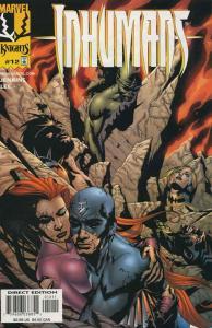 Inhumans (Vol. 2) #12 VF/NM; Marvel   save on shipping - details inside