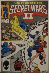 Secret Wars II #4 NM Direct Edition #4 in a 9 issue Limited Series