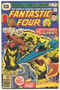 Fantastic Four #171 1976- 30 CENT VARIANT- 1st Gorr VG