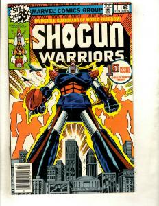 Lot of 10 Shogun Warriors Marvel Comics # 1 2 3 5 6 7 10 18 19 20 WS6