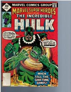Marvel Super-Heroes #67 (1977)