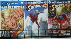 Supergirl Rebirth (DC 2016) #1 Special + #1 Regular Series in Two Variants!