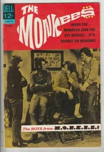 Monkees, The # 5 Strict VF/NM High-Grade Cover Photo Micky Dolanz, Peter Tork