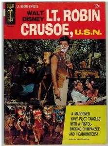 LT ROBIN CRUSOE,U.S.N (1966 GK) NN VG-F 1966