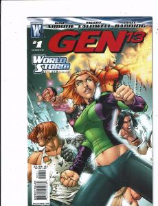 Lot of 2 Gen 13/The Authority Wildstorm Comic Books #1(2) KS10