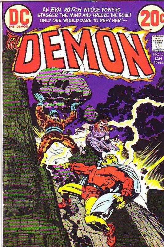 Demon, The #5 (Jan-73) VF/NM High-Grade Jason Blood, Merlin