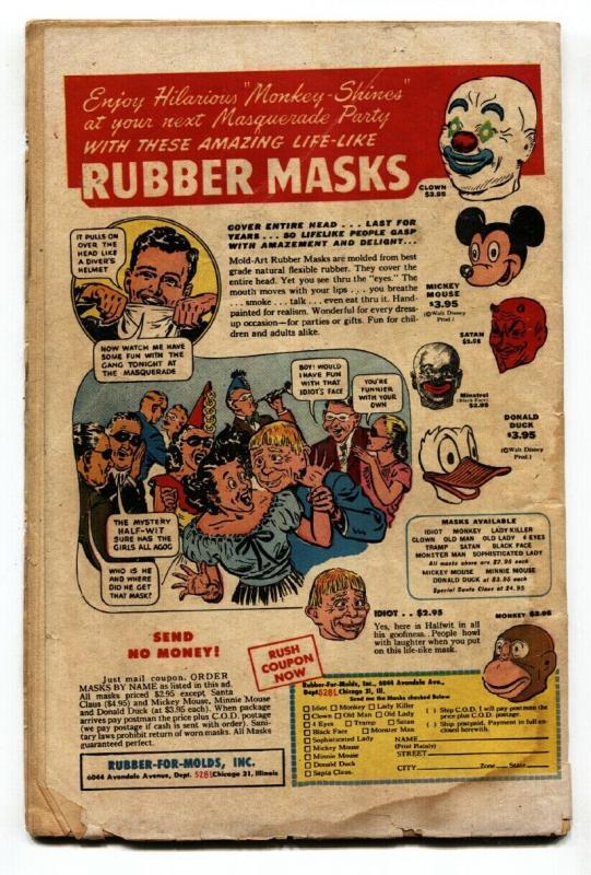 THE TEXAN #6 1949-ST JOHN COMICS-WAKANDA MATT BAKER CVR G