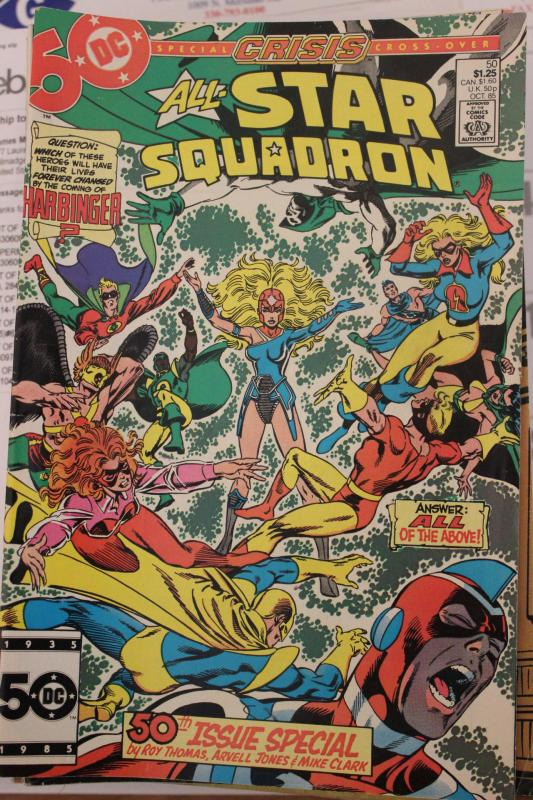 All Star Squadron  #50 FN/VF