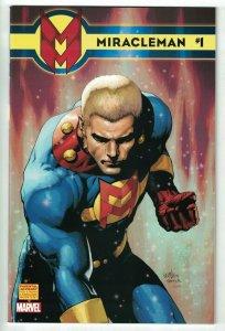 Miracleman #1 VF/NM Leinil Francis Yu 1:75 Cover - Marvelman - Warrior - 2014