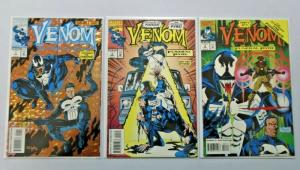 Venom Funeral Pyre #1 to #3 set 3 different books 8.0 but #1 is 6.0 (1993)