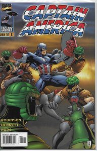 Captain America   vol. 2   # 9 FN/VF (Heroes Reborn)
