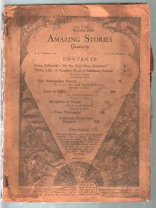 Amazing Stories Quarterly-Winter 1932-John Taine-early pulp thrills-P