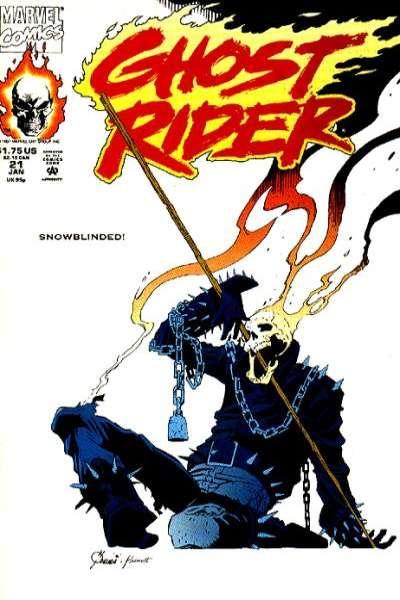 Ghost Rider (1990 series) #21, NM- (Stock photo)