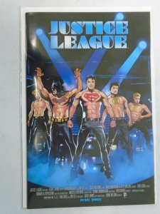 Justice League #40 B Movie Poster Variant 8.5 VF+ (2015)
