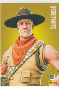 Fortnite Sash Sergeant 195 Rare Outfit Panini 2019 trading card series 1