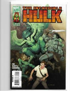 THE INCREDIBLE HULK #604 VF- MARVEL 1ST APPEARANCE OF MARLO CHANDLER AS HARPY