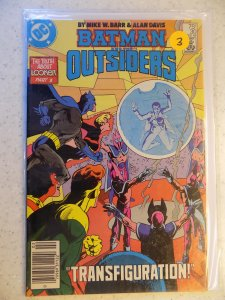 BATMAN AND THE OUTSIDERS # 30
