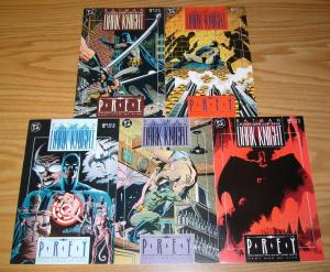 Batman: Prey #1-5 VF/NM complete story - doug moench - paul gulacy - catwoman