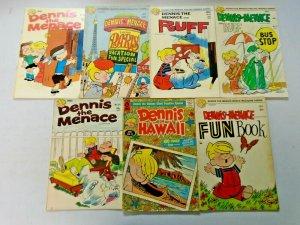 Bronze Age Dennis the Menace Comic Lot 25 Different 4.0 VG