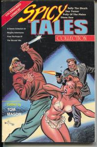 Spicy Tales Collection 1989-reprints Spicy conic strips-Duana Daw-Dan Turner-VF