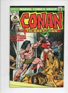CONAN the BARBARIAN #34 FN, Buscema, Ernie Chan, Howard, 1970 1974