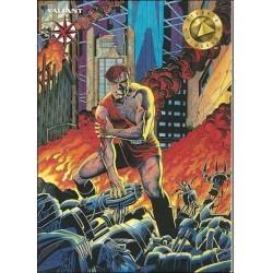 1993 Valiant Era MAGNUS ROBOT FIGHTER #21 - Card #22