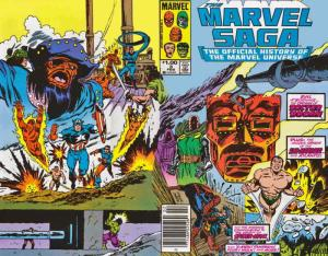 Marvel Saga #3 FN; Marvel | save on shipping - details inside