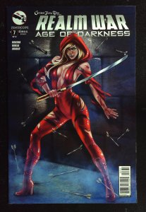 Grimm Fairy Tales presents Realm War Age Of Darkness #7 Cover C (2014)