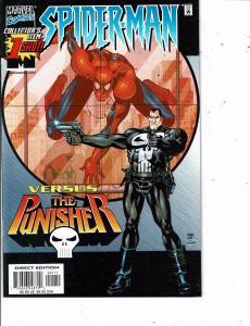 Spider-Man Versus The Punisher # 1 NM- 1st Print Marvel Comic Book DC6