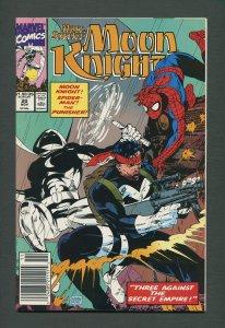 Moon Knight #20  / 9.6 NM+  /  Newsstand November 1990