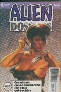 Alien Dossiers, coleccion en dos retapados