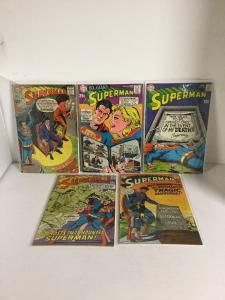 Superman 211 212 213 214 215 216 217 218 219 220 Fn-Vf Fine-Very Fine 6.0-8.0