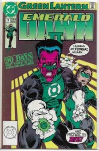 Green Lantern  : Emerald Dawn II #3 of 6 VG