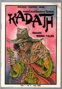 Kadath #4 1981-Limited to 100 copies-#69 signed-Wellman-Garfield-G