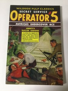 Secret Service Operator 5 Liberty's Suicide Legions Nm Near Mint Pulp Reprint