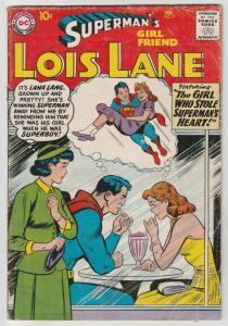 Superman's Girlfriend Lois Lane #7 (Feb-59) VG Affordable-Grade Superman, Loi...