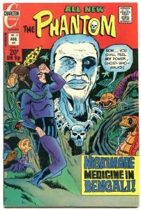 THE PHANTOM #57 1973-CHARLTON COMICS-WITCH DOCTOR FN