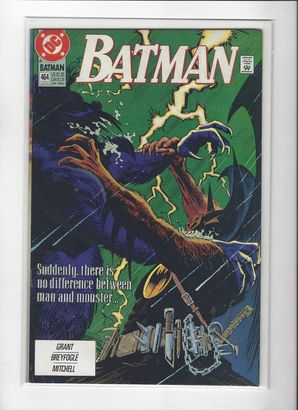 BATMAN #464  DC COMICS NM