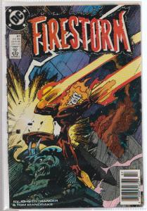 FIRESTORM #87 - DC COMICS - JULY 89 - BAGGED & BOARDED