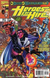 Heroes for Hire #16 VF/NM; Marvel | save on shipping - details inside