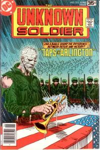 UNKNOWN SOLDIER 216 VF-NM June 1978 COMICS BOOK