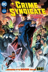 Crime Syndicate #1, NM + (Stock photo)