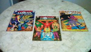 Justice League of America (1967 1st Series) #55, #57 & #59 ALL IN G 2.0 LOT