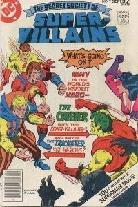 Secret Society of Super-Villains #9, NM (Stock photo)