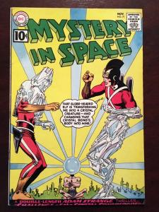 MYSTERY IN SPACE #71 GLOSSY VF- CLASSIC DC SILVER AGE ADAM STRANGE!