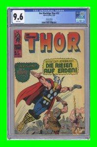 Journey into Mystery #104 Marvel [German: Der Machtige Thor #22 1975] CGC 9.6