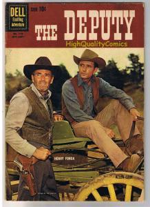 The DEPUTY, FN-, Henry Fonda, Dell, Western, Four Color, 1960