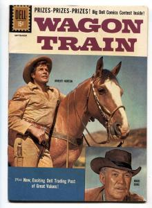 Wagon Train #10 1961- Dell TV Western- Robert Horton VF+